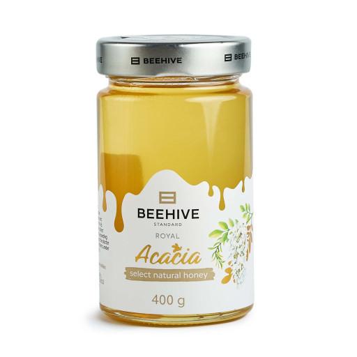 Мед натуральний акацієвий 400 г