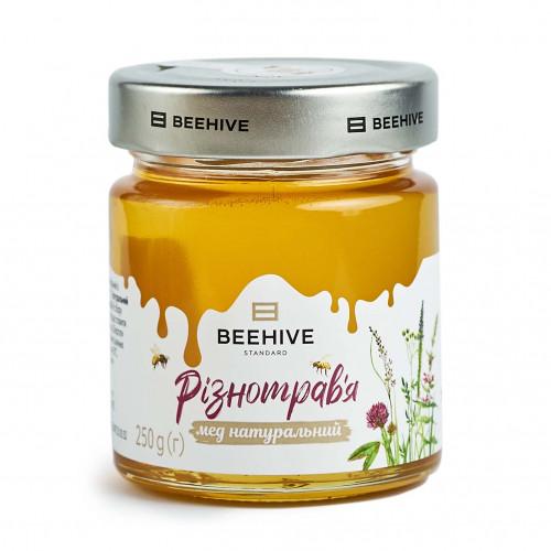 Мед натуральний з різнотрав'я