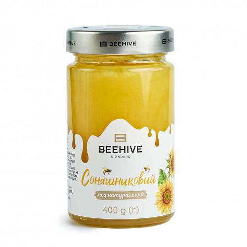 Мед натуральний соняшниковий
